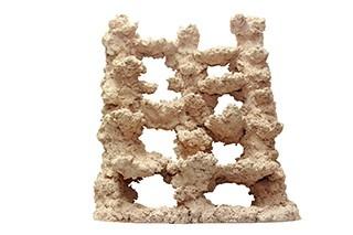 Riffkeramik Rückwandmodul 50x50cm