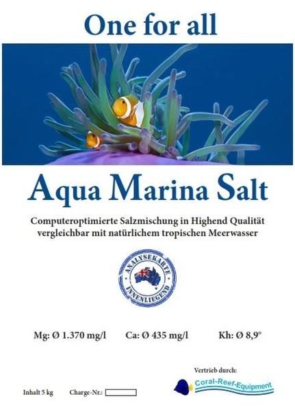 Aqua Marina Salt computeroptimierte Meersalzmischung - 5 kg / Eimer