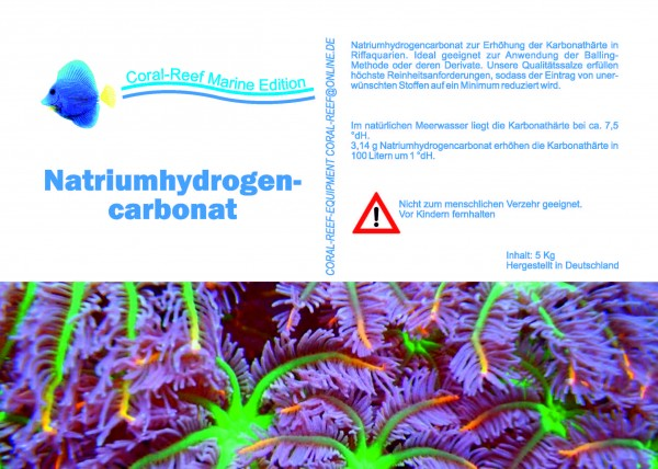 Natriumhydrogencarbonat - 5 kg / Eimer