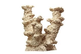 Riffkeramik Riffsäule Breit 3 Äste 50cm