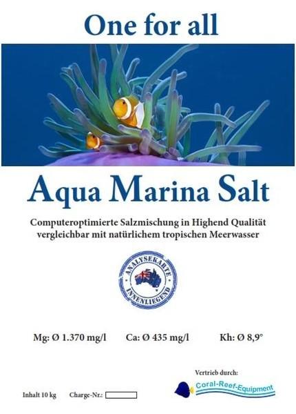Aqua Marina Salt computeroptimierte Meersalzmischung - 10 kg / Eimer