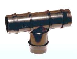 PP-T- Stück 3x Tülle 32 x 32 x 32 mm