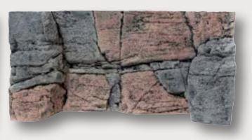 Back to Nature Rocky Rückwand 60 x 30cm