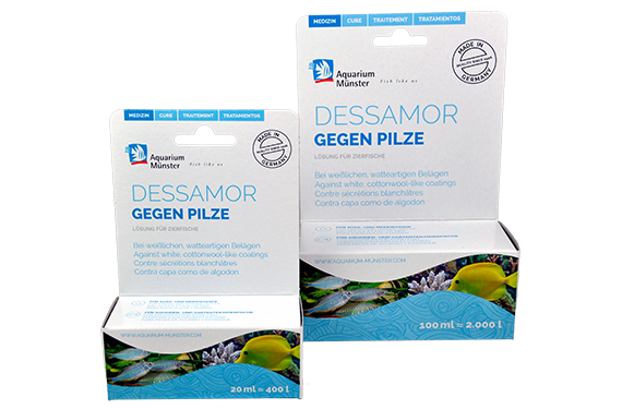 gegen Pilze DESSAMOR Aquarium Münster - 20ml - Medikament