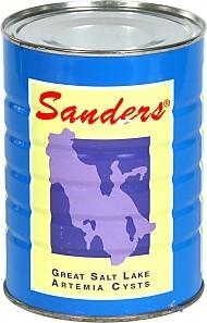 Sanders Artemia-Eier Premium hohe Schlupfrate 425g - vakuumverpackt