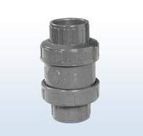 PVC-Rückschlagventil mit O-Ring, 50 mm