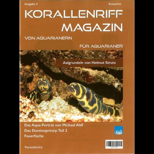 Korallenriff Magazin Ausgabe 4 für Aquarianer