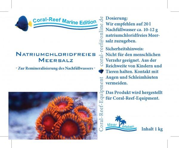 Natriumchlorid freies Salz - 1 kg Eimer