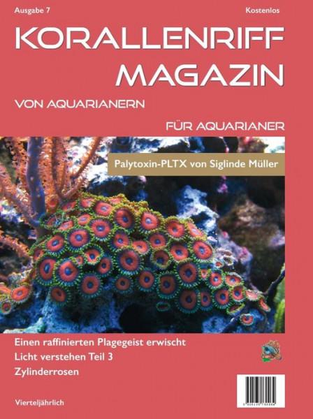 Korallenriff Magazin Ausgabe 7 von Aquarianern für Aquarianer