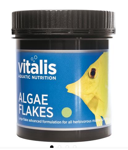 vitalis Algae Flakes 30 gr. für pflanzenfressende Meerwasserfische