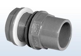 Durchführung f. Polyester 63/75 x 63 mm x 2 1/2 Zoll