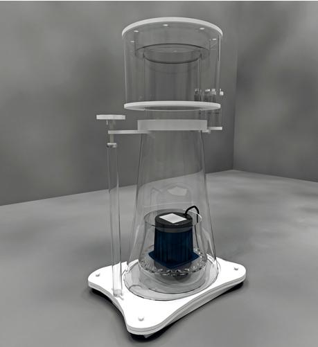 Skimz Protein Skimmer SV 257 DC Oval Abschäumer bis 3.000 l