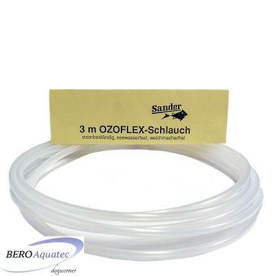 Ozoflex Schlauch Luftschlauch 3m hell  4/6 mm