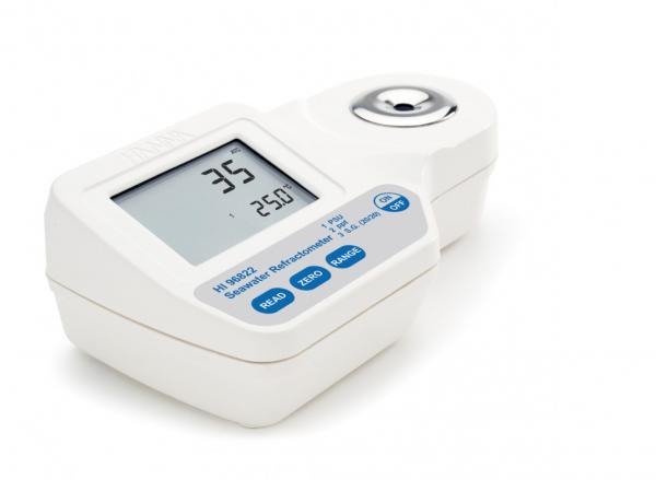 Hanna Salzgehalt in Meerwasser - Refraktometer digital, tragbar (HI96822)