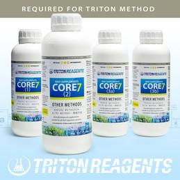 Triton Core 7 Reef Supplements Spurenelemente groß 4x10 l für andere Methoden other methods