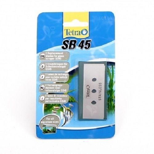 2 Ersatzklingen SB 45 für Tetra Tec GS 45 Aquarien-Scheibenreiniger