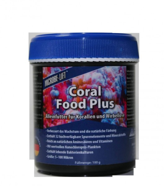 Microbelift Coral Food Plus Korallenfutter