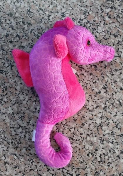 Plüsch-Seepferdchen - pink
