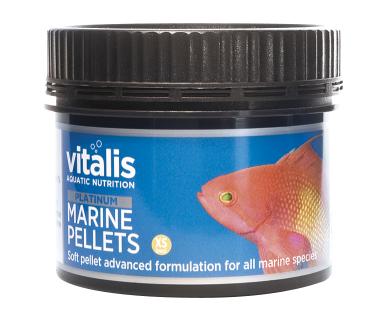 vitalis Platinum Marine Pellets (XS) 1mm 120 gr. für Meerwasserfische