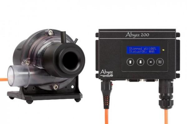 Abyzz A200AS Pumpe und Treiber mit 3m-Kabel