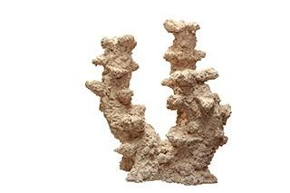 Riffkeramik Riffsäule Breit 2 Äste 30cm