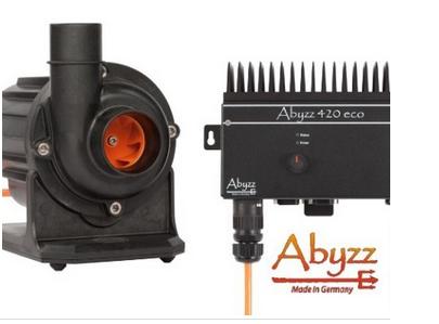 Abyzz A420eco regelbare Pumpe und Treiber mit 3m-Kabel