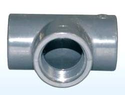 T-Stück 90° mit 3x Innengewinde, 1 1/2 Zoll