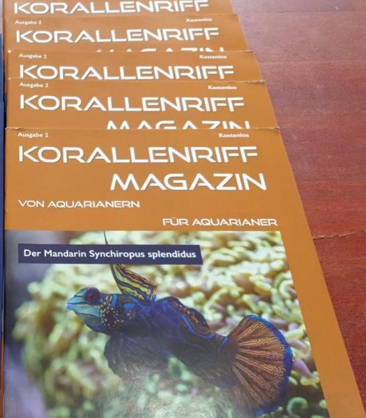 Korallenriff Magazin Ausgabe 2 von Aquarianern für Aquarianer