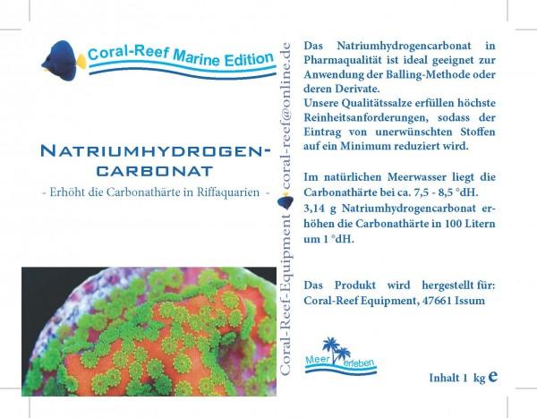 Natriumhydrogencarbonat - 1 kg / Eimer