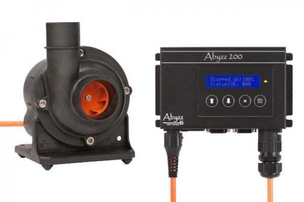 Abyzz A200 Pumpe und Treiber mit 3m-Kabel