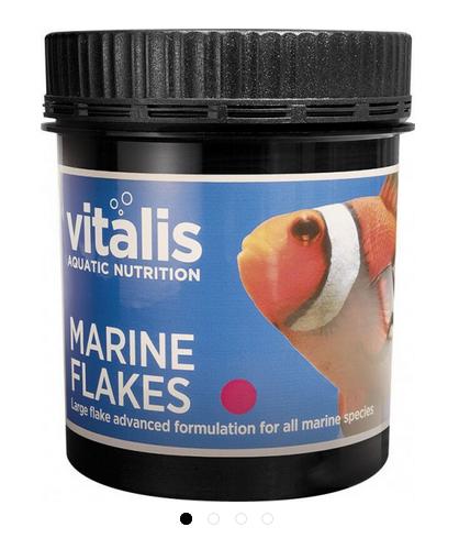 vitalis Marine Flakes 30 g für Meerwasserfische