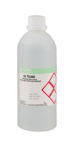 Hanna Aufbewahrungslösung für Elektroden, 500mL-Flasche ( HI70300L)