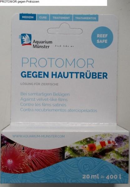 PROTOMOR gegen Protozoen von Aquarium Münster - 20ml - Medikament