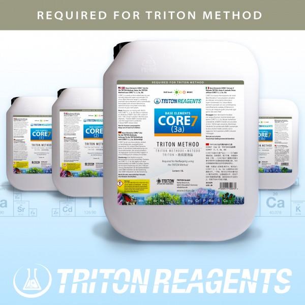 Triton Core7 Bulk Liquid SET Base Elements 4x5Liter (flüssig) für TRITON Methode