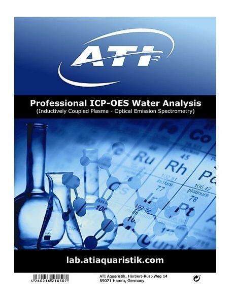 ATI ICP-OES Water Analysis Wasseranalyse ohne Umverpackung