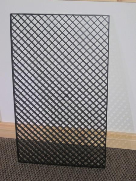 Rasterplatte / Gitter 68 cm x 40 cm x 1,5 cm schwarz, Lichtrasterplatte