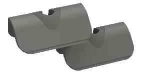 Tunze Kunststoffklingen 45mm, 2 St. für Care Magnet nano