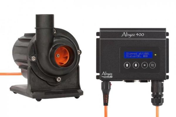 Abyzz A400 Pumpe und Treiber mit 10m-Kabel