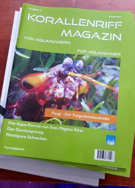 Korallenriff Magazin Ausgabe 3 von Aquarianern für Aquarianer