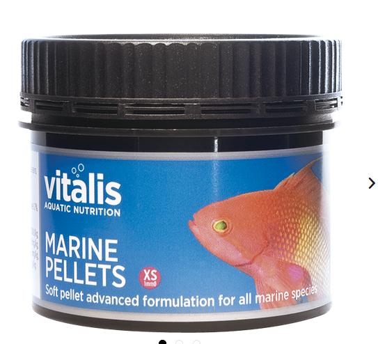 vitalis Marine Pellets (XS) 1mm 120 gr. für Meerwasserfische