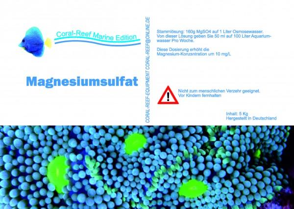 Magnesiumsulfat - 5 kg / Eimer