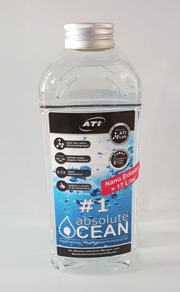 ATI Absolute Ocean 2x10,2 L Salzwasser-Konzentrat für 170 Liter Meerwasser