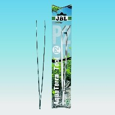 JBL Pinzette ProScape P30 curved Aqua Terra - abgewinkelte Edelstahlpinzette ca. 30 cm