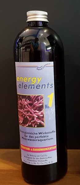 Aquaconnect Energy elements 500ml  Nr. 1