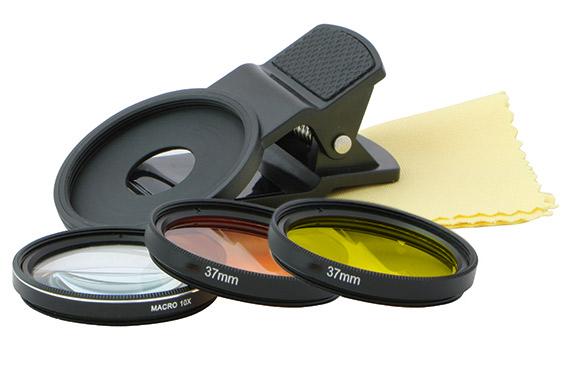 D-D Coral Lense für Handy Smartphone - bessere Farbe auf dem Foto