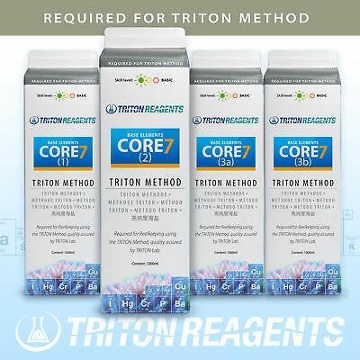Triton Core 7 Base Elements Spurenelemente 4x1 l für Triton-Methode