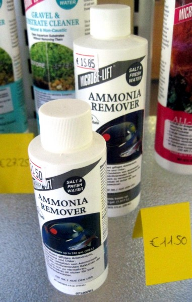 Ammonia Remover - 08 oz. - 236 ml