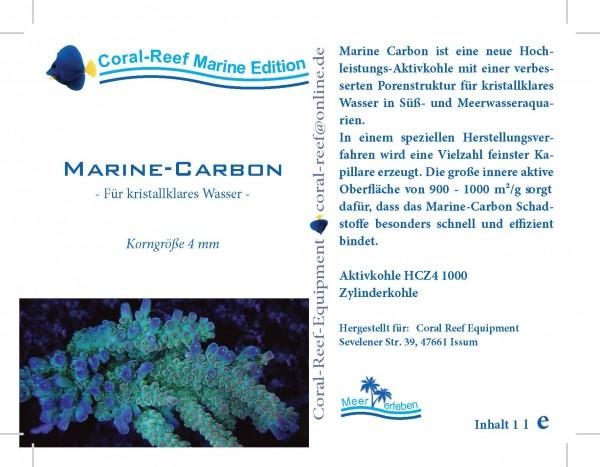 Marinecarbon (Aktivkohle) - 1000 ml Dose
