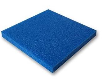 Schaumstoffmatte blau 50x50x5cm grob 10ppi