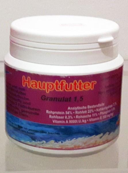 hochwertiges Futtergranulat grob 1000 ml Theysens